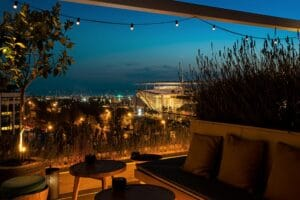 Athens Marriott rooftop view Discover Greece in the UK